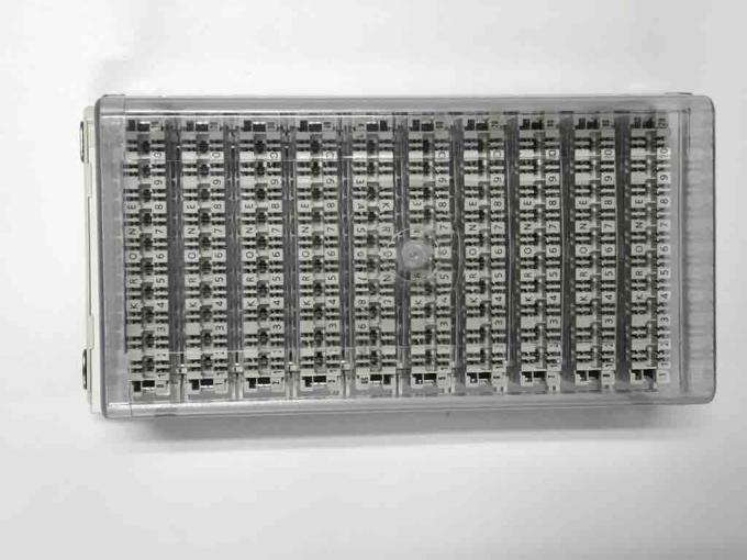 Highband 10 Pair Module 110 Terminal Block 100 Pair MDF White Body Grey Base