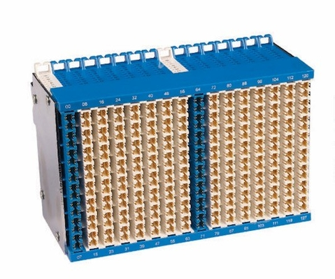 128 Pairs Main Distribution Frame MDF Terminal Block For Inside Terminal