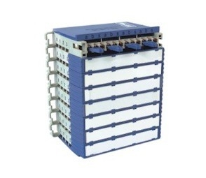 Blue White MDF Distribution Frame , 120 Ohm Unit Module Digital Distribution Frame DDF
